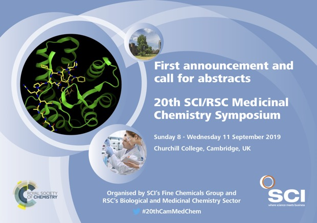 20th SCI/RSC Medicinal Chemistry Symposium | News | Cambridge
